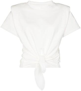 Isabel Marant Belita tie-waist T-shirt
