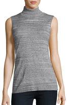 Calvin Klein Sleeveless Knit Turtleneck Shell