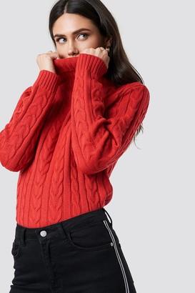 Rut & Circle Rut&Circle Polo Braid Knit Red
