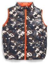 One Kid Toddler's & Little Boy's Sleeveless Puffer Jacket