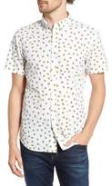 Bonobos Slim Fit Print Short Sleeve Sport Shirt