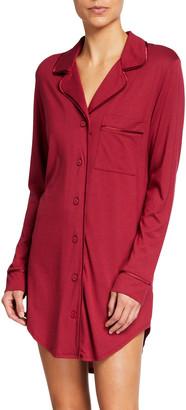 Cosabella Bella Cotton-Modal Sleepshirt