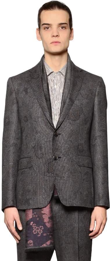 Etro Paisley Wool & Silk Jacquard Jacket