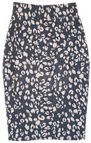 Le Fleur Du Mal Knit Pencil Skirt