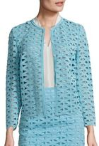 Escada Macrame Lace Jacket