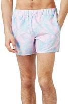 Topman Men's Leaf Swim Shorts