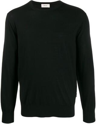Ermenegildo Zegna Knitted Long Sleeve Jumper