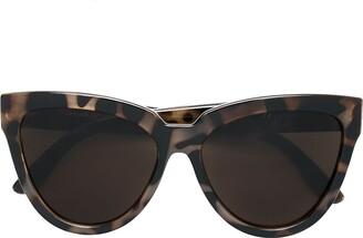 Le Specs Volcanic Tort sunglasses