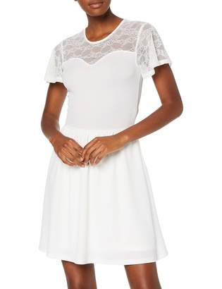 Only Women's Onlmona S/s Lace Dress JRS Party