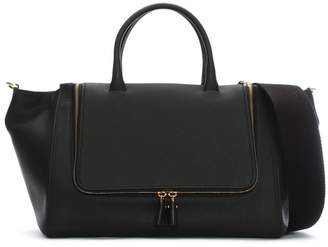 Anya Hindmarch Vere Black Leather Tote Bag