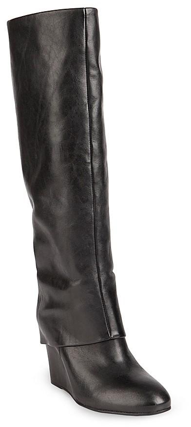 Steve Madden STEVEN BY Tall Wedge Boots - Mauraa