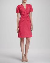 Lafayette 148 New York Rae Two-Way-Zip Dress