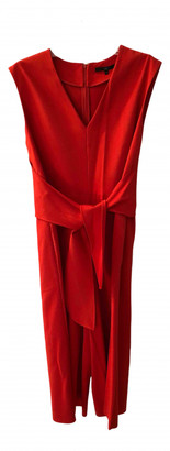 Tibi Red Synthetic Jumpsuits