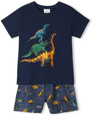 Milkshake Dinosaur Stack Pyjama