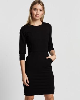Forcast Lydia Ponte Dress