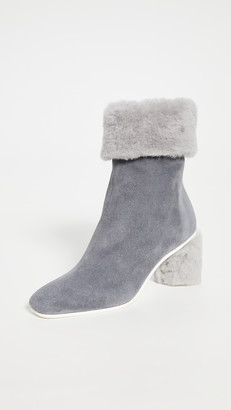 Gray Matters Furry Shearling Boots