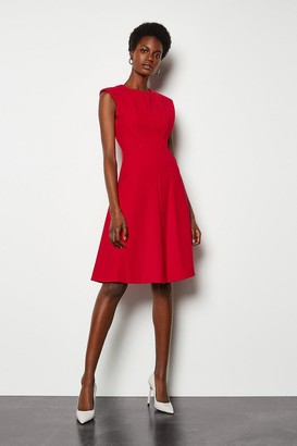 Karen Millen Sculptured Tailored Dress