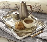 Pottery Barn Silver-Plated Breakfast Tray