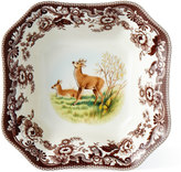 Spode Deer Square Serving Bowl