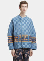 Story Mfg. Patchwork Jacket in Blue