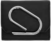 3.1 Phillip Lim SSENSE Exclusive Black Small Alix Flap Wallet