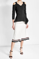 Roland Mouret Knitted Jacket with Cut-Out Detail