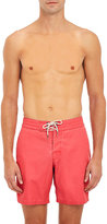 Faherty Men's Classic Board Shorts-RED