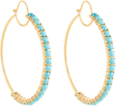 Irene Neuwirth Turquoise & yellow-gold earrings