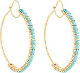 Irene Neuwirth Turquoise & yellow-gold earrings