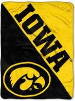 NCAA Iowa Hawkeyes Micro Raschel Throw Blanket