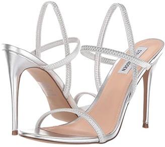 Steve Madden Gabriella Heeled Sandal (White) High Heels