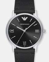 Emporio Armani Kappa Black Analogue Watch