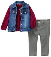 7 For All Mankind Vest, Tee, & Skinny Jeans (Baby Girls)