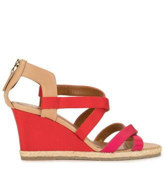 Fendi Pre-Owned Strappy Wedge Sandals