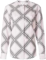 Giambattista Valli diamond pattern shirt