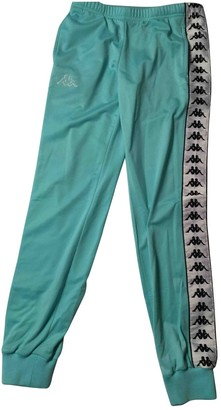 Kappa Turquoise Trousers for Women