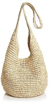 Aqua Woven Crossbody Bag - 100% Exclusive