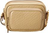 Burberry Small Monogram Leather Camera Bag
