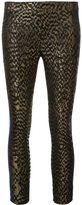 Haider Ackermann jacquard contrast stripe trousers - women - Silk/Polyester - 40