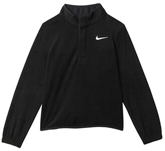 Nike Kids Therma Victory Top (Little Kids/Big Kids) (Black/Black/White) Boy's Clothing