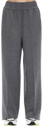 Agnona Wool & Cashmere Flannel Pants