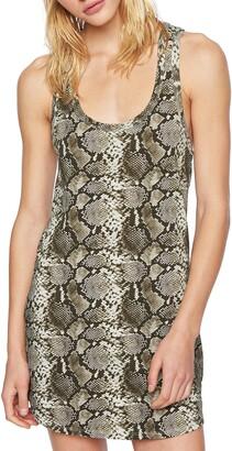 Pam & Gela Snake Tank Dress