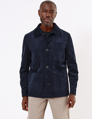 Marks and Spencer Pure Cotton Corduroy Utility Jacket