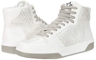 Steve Madden Freethrow Sneaker (White/Grey) Women's Shoes