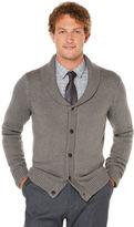 Perry Ellis 5 Button Shawl Collar Cardigan