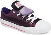 Converse Chuck Taylor ® All Star ® Double Tongue Sneaker (Toddler, Little Kid & Big Kid)