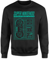 Nintendo Super Entertainment System Sweatshirt - Black