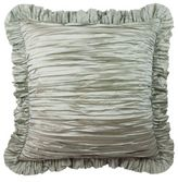 Austin Horn Collection Cascata Ruffle European Pillow Sham in Seamist