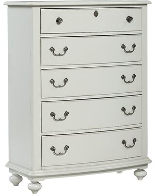 Wendy Bellissimo by LC Kids Inspirations by Wendy Bellissimo 5 Drawer Chest Color: Morning Mist Grey