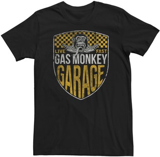 Men's Gas Monkey Garage Crest Graphic Tee
